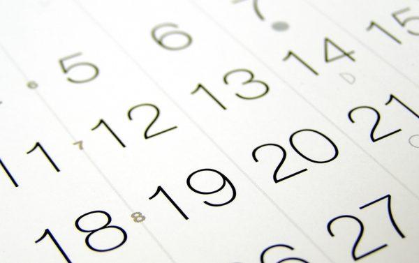 shipping holiday calendar