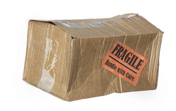 damaged parcel