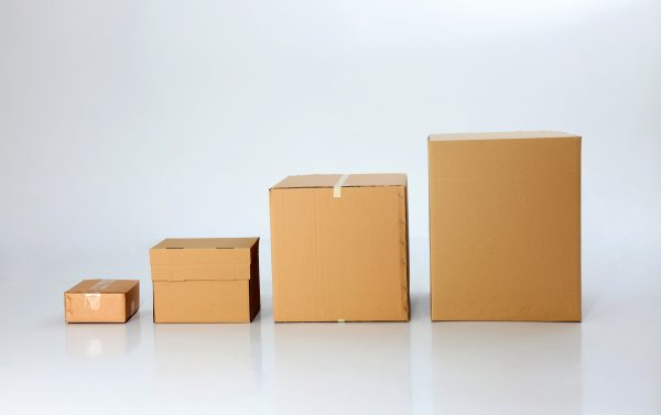 shipping box dimensions