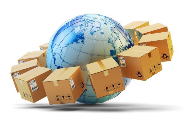 import and export shipments internationally