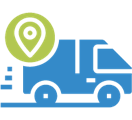 Automatic tracking and no pickup fees