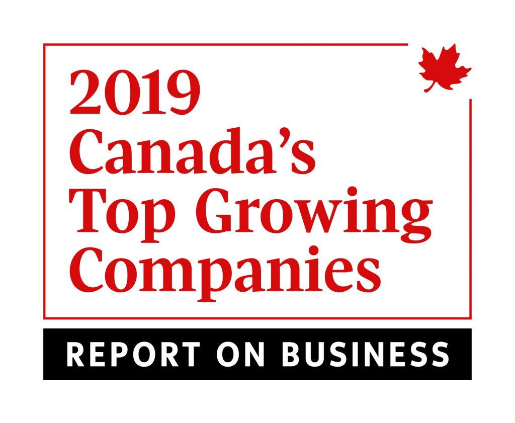 Top Growing Company Canada 2019