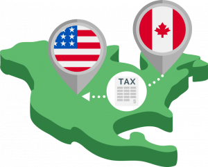 Duties and taxes from Canada to the U.S.