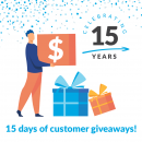 15 Days of Customer Giveaways